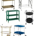 Get the Look: 50 Modern Bar Carts, Serving Carts, and Trolleys