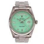Covet: Seafoam Green Rolex