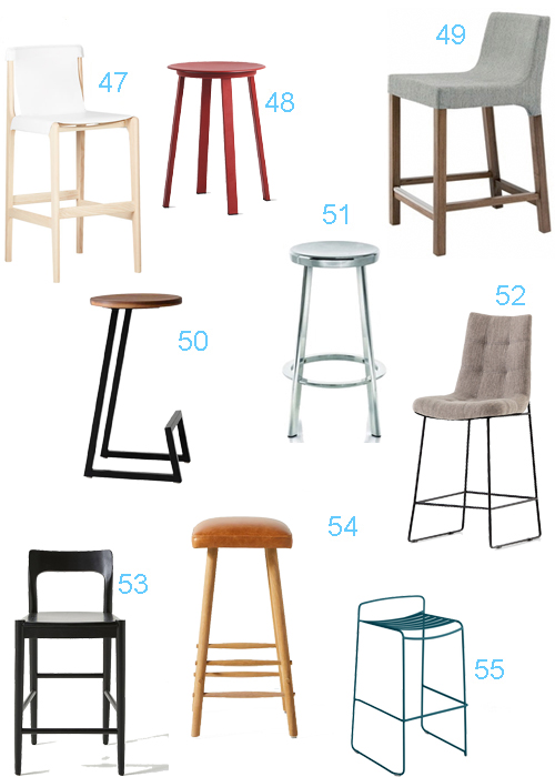 Modern Bar Stools With Backs Gold Counter Stools