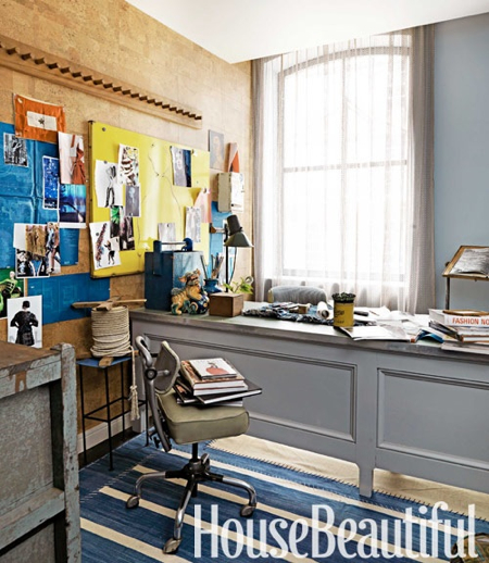 Architects Home Office Design Ideas: Design Diary: Hearst's Designer Visions Showhouse