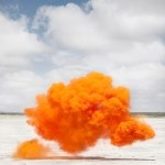 ARTmonday: Colored Smoke Landscapes