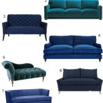 Get the Look: 43 Blue Velvet Sofas