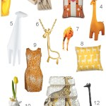 Get the Look: 30 Giraffe Accessories