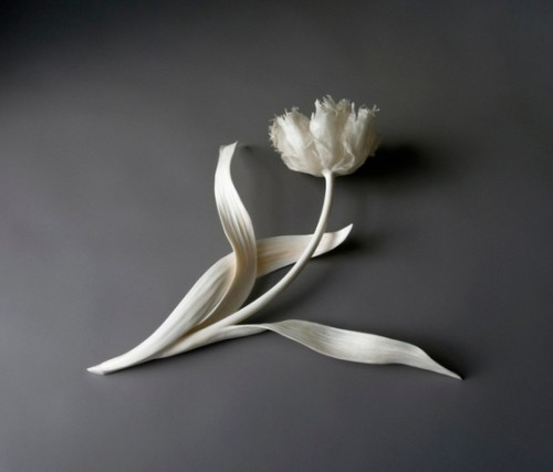 JENNIFER TRASK ARTIST METAL BONE FLOWERS