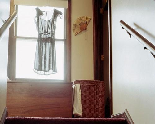Anastasia-Caabon-dress-fan-stairs