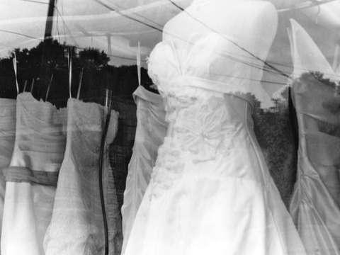 Close Dress Display By Abby Murphy