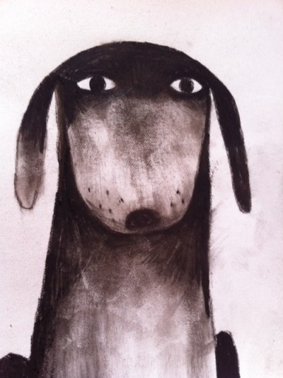 Jon Klassen Illustrator Dog Drawing