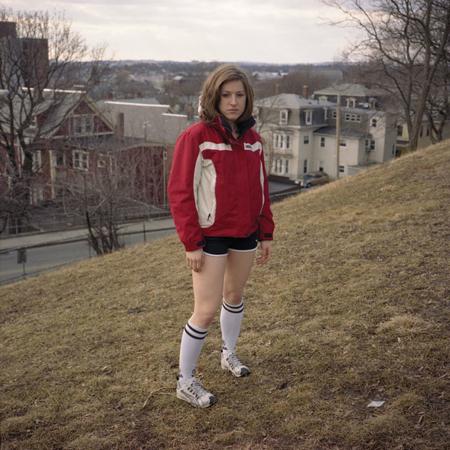 Ranee Palone Flynn Girl in Tube Socks