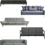 Get the Look: 22 Gray Sofas (and Meredith's Living Room)