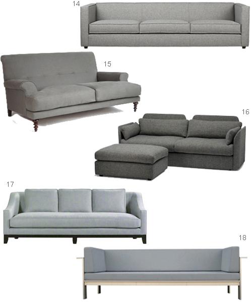 22 Modern Gray Sofas