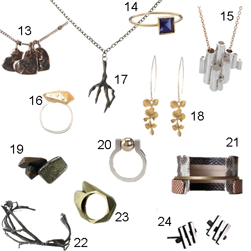 Boston Jewelry Designers Boutiques Artisans