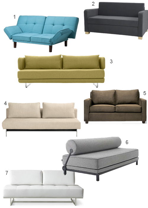 Modern Sleeper Sofas With Beds