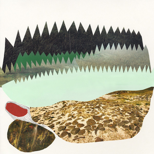Tom Edwards Forest Collage Artwork