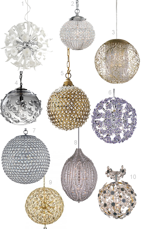 Get the look crystal ball chandeliers stylecarrot crystal ball chandeliers 1 aloadofball Gallery