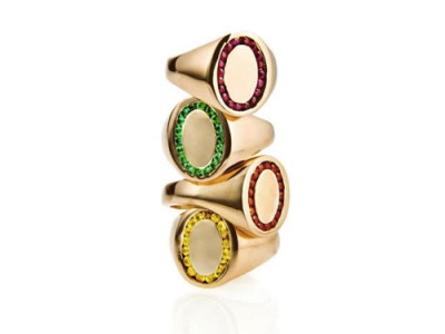 Jeassica Biales Candy Signet Ring J.Crew