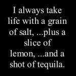 Saturday Say It: The Margarita Approach