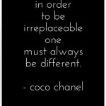 Saturday Say It: Coco Chanel on Individuality