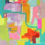 ARTmonday: Jaime Derringer Art, Abstract Drawings and Paintings