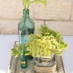 Sunday Bouquet: Succulent Centerpiece DIY