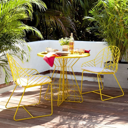 Jenni kayne 39 s house archives stylecarrot for West elm yellow chair
