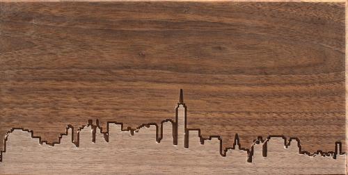 city-skyline-in-wood