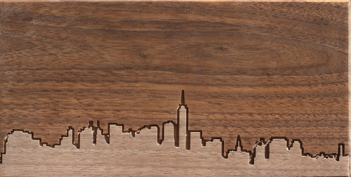 city-skyline-in-wood