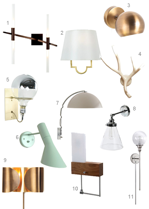 Modern Bedroom Sconces 1 ...