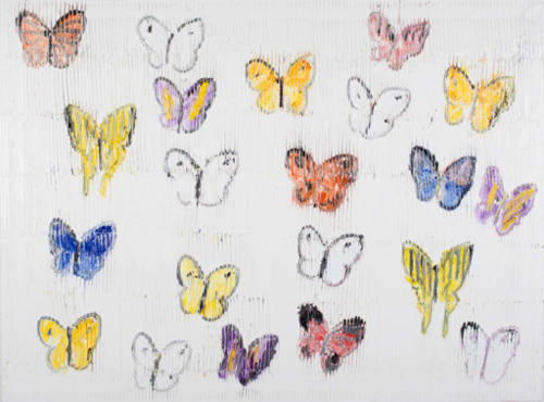 hunt-slonem-butterflies-2014