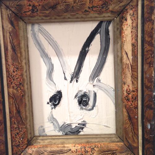 hunt-slonem-white-bunny