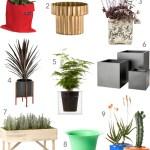 Get the Look: 20 Modern Outdoor Planters