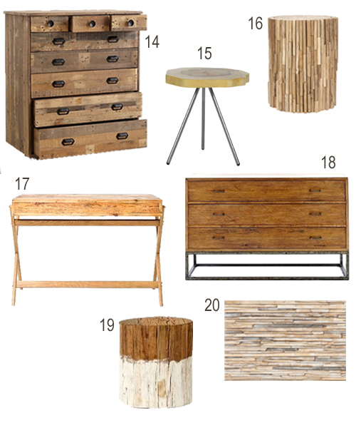 Get the Look Reclaimed Wood Bedroom Furniture StyleCarrot