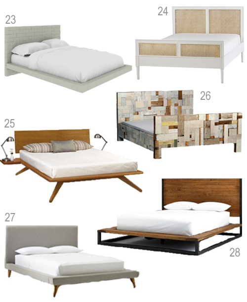 Get The Look 28 Modern Platform Beds Stylecarrot