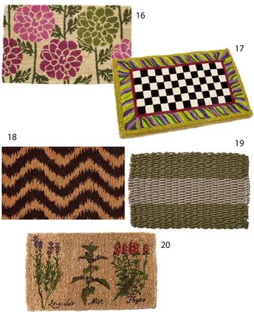 Get The Look 20 Modern Doormats Stylecarrot