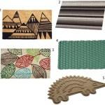 Get the Look: 20 Modern Doormats