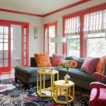 Design Diary: Colorful Cambridge Home Makeover by Heidi Pribell
