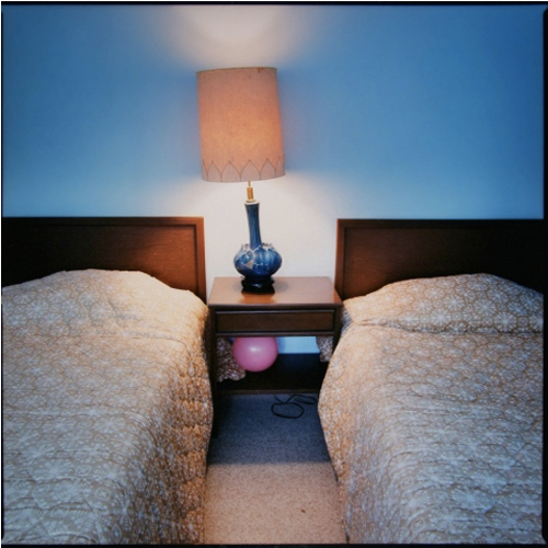 Stefanie Klavens Interior Photograph Motel Room