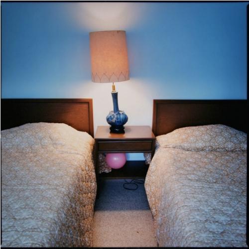 Stefanie Klavens Interior Photograph Motel Room