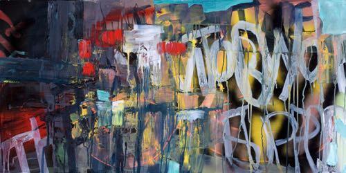 """Vermont Artist Galen Cheney """"Barrio"""""""
