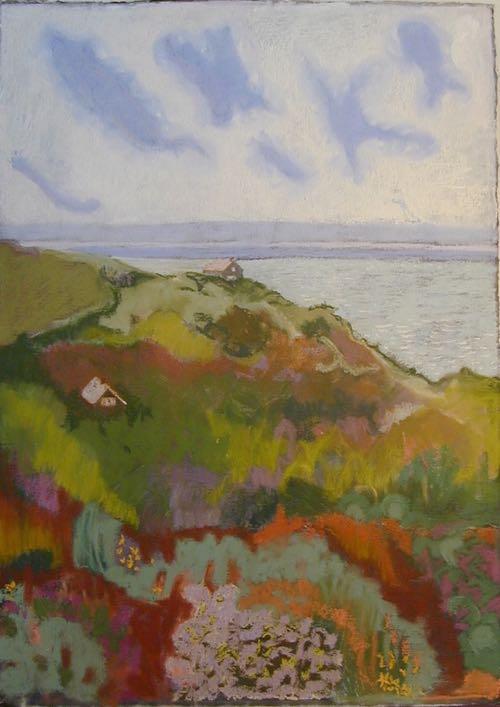 Cape Cod Artist Judyth Katz Pastel Landscape