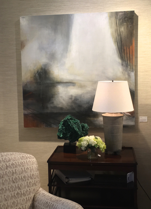 Abstract Painting By New England Artist Jen Bradley