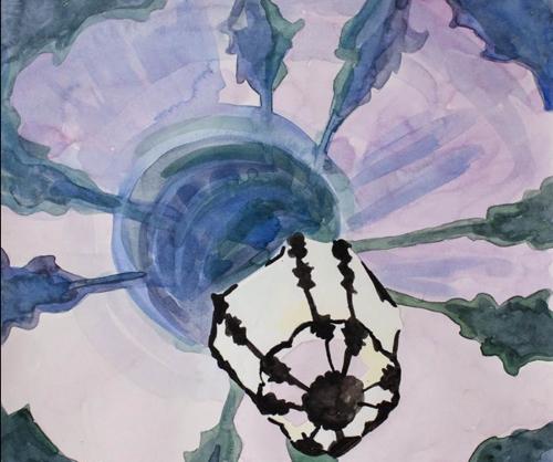 Venetian Lantern Painting By Lee Essex Doyle