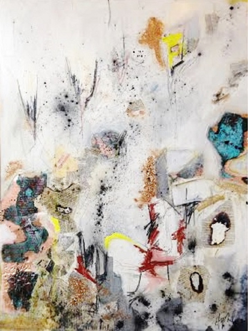 Boston Artist Hilary Tait Norod Abstract Painting