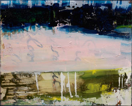 Abstract Painting By Irwin Thompson