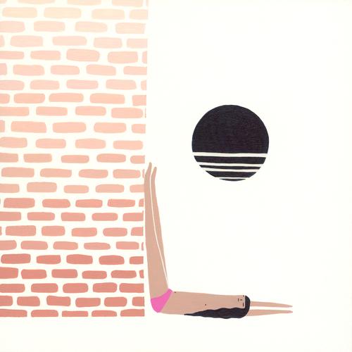 Yoga Illustration Laura Berger