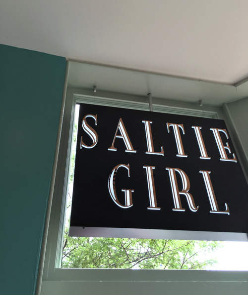 Saltie Girl Restaurant In Boston's Back Bay Has Raw Bar Tinned Fish & Great Design