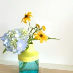 Sunday Bouquet: Summer Flowers In a New Vase