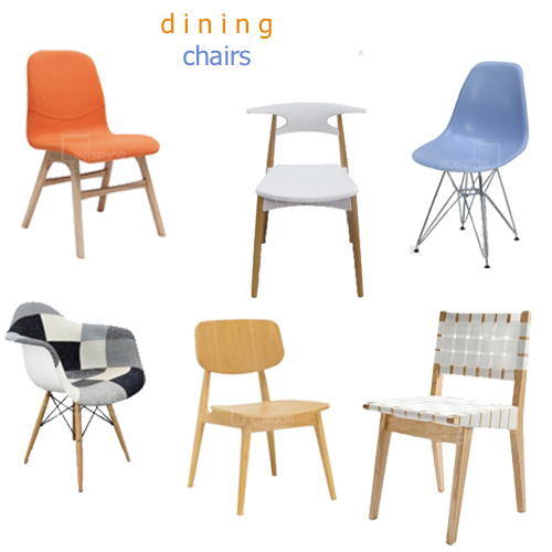 Modern Dining Chair Replicas