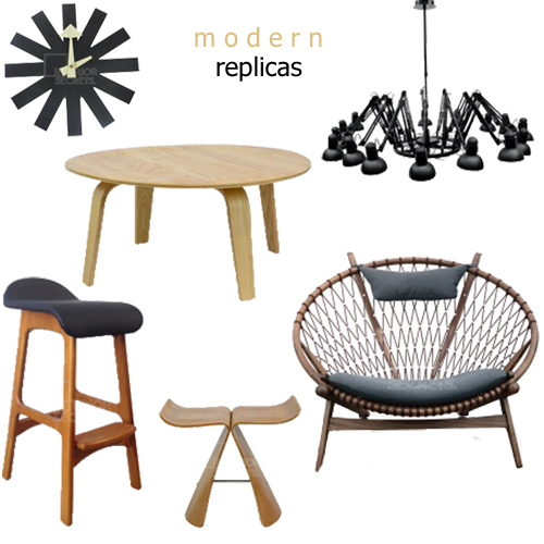Replicas Of Modern Furniture And Lighting
