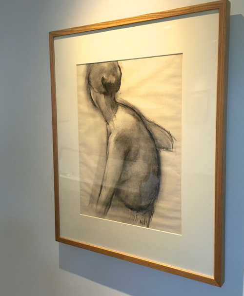 Nude Drawing By Irving Marantz In Provincetown