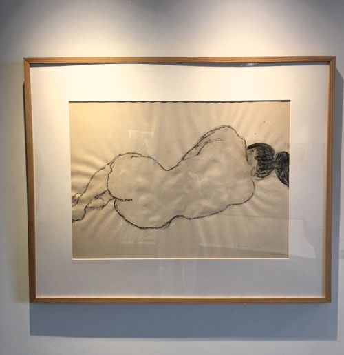 Nude Drawing By Tony Vevers In Provincetown